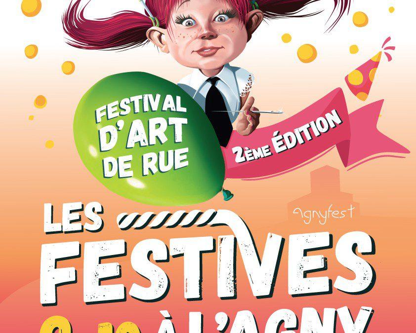 Affiche des Festives à l'Agny